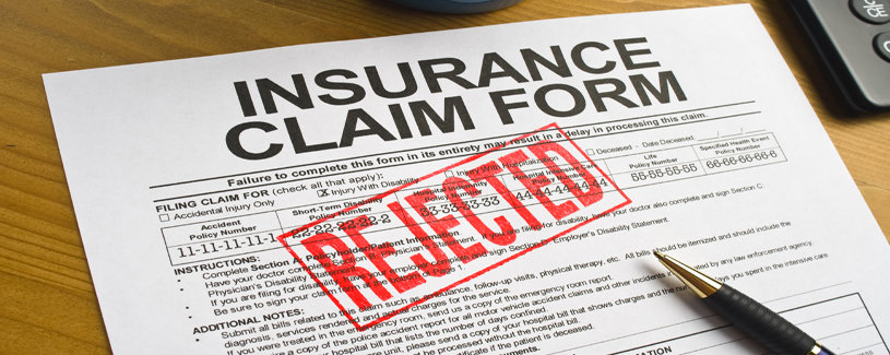Rejected Insurace Claim